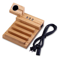 3 USB Ports Charging Dock For Phone, Tablet