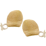 Kids Hemp Body Scrubber Mitts