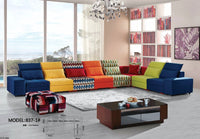 Beanbag Top Fashion Sectional Sofa Chaise Sofas For Living Room 2017 Modern Set Fabric Sectional Sofa Hot Sale Cheap Price Home
