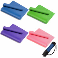 PVC Yoga Mats Exercise Pad 6MM Thick Non-slip