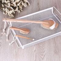 Wooden Handle Skin Body Brushes
