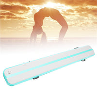Inflatable floating yoga mat