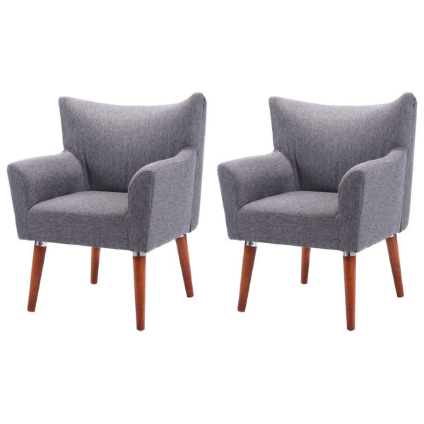 Set Of 2 Leisure Arm Chair