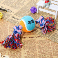 Dog Chew Toy Cotton Hemp Rope