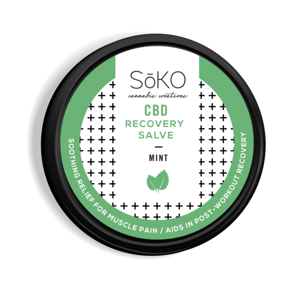 Recovery Salve 2oz MINT 150mg