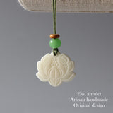 Charms Lotus - Tagua Nut