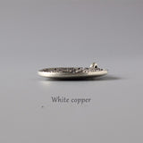 Sipaho Melong Mirror - White Copper