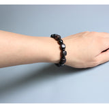 Om Mani Padme Hum Bracelet - Wooden with Coconut Shell