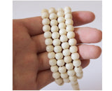 Ivory White 108 Mala Beads - Tagua Nut