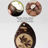 Charms Lotus Flower - Tagua Nut