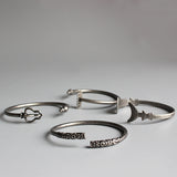 Ancient Buddhist Tools Bracelets- 316L Stainless Steel