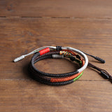 Tibetan Hand-Braided Knots - Peace & Happiness & Soul - Three Pcs Set