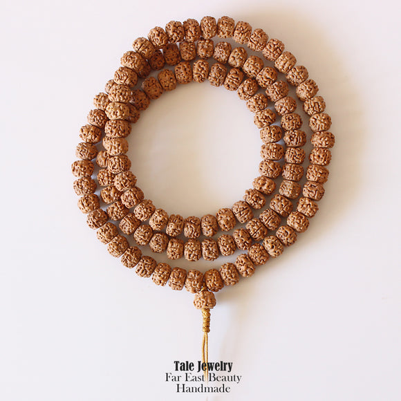 Meditation & Pray 108 Mala Beads - Rudraksha