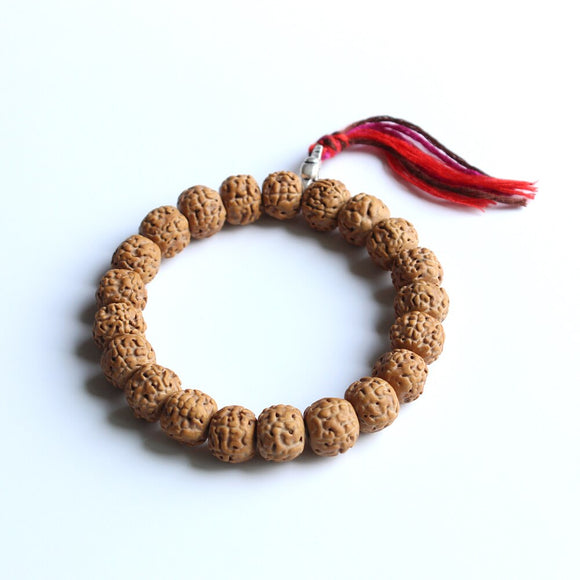 Rudraksha Mala Bracelet for Protection