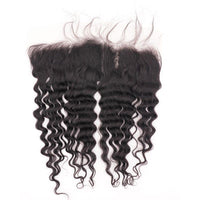 Deep Wave HD Lace Frontal - HookedOnBundles Virgin Hair
