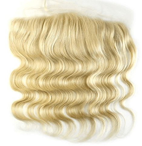Russian Blonde Body Wave Lace Frontal - HookedOnBundles Virgin Hair