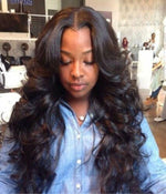 Loose Wave Hair Extensions - hookedonbundles-virgin-hair