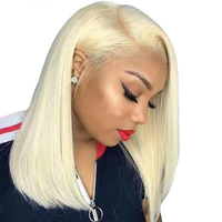 #613 Straight Bob Wig - HookedOnBundles Virgin Hair