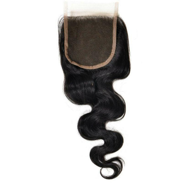 Brazilian Body Wave Closure - HookedOnBundles Virgin Hair