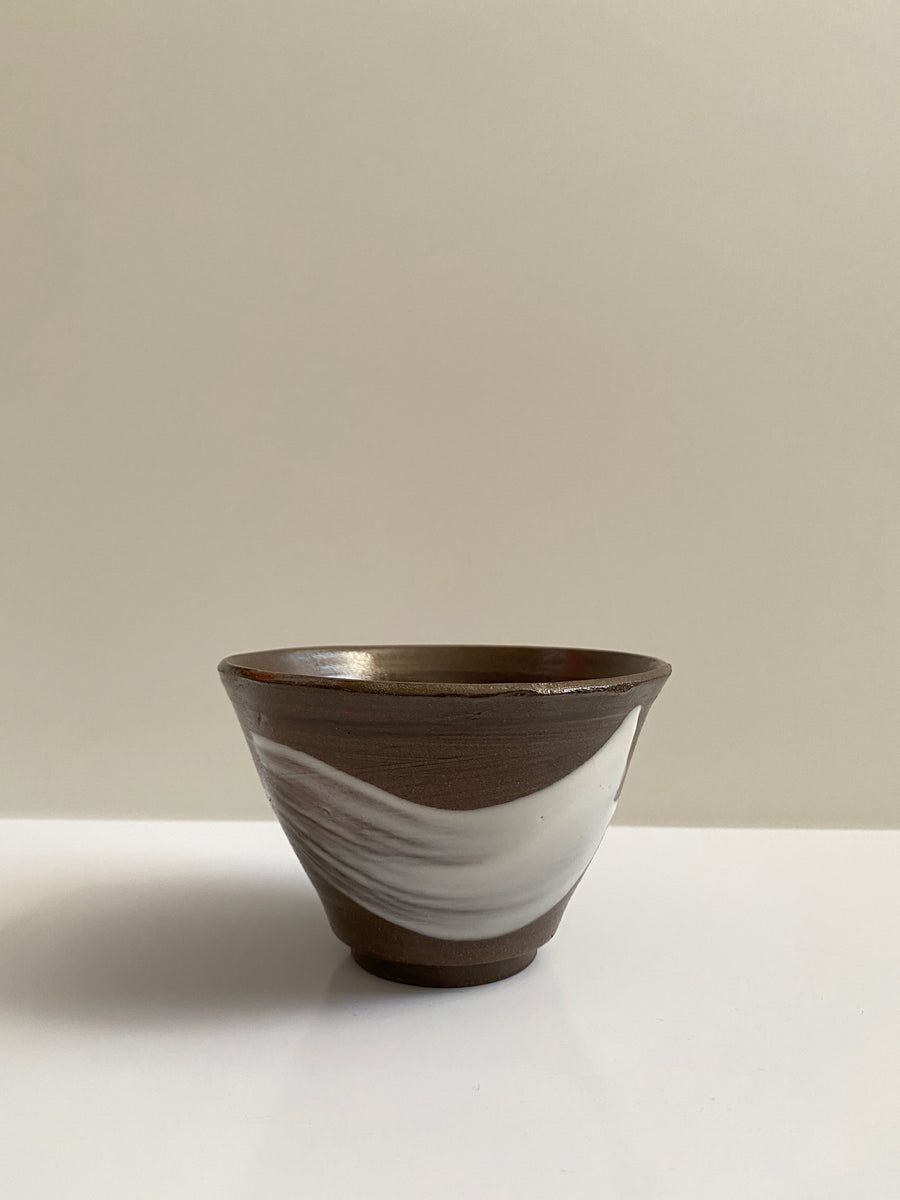 BRUSH STROKE SMALL CERAMIC BOWL - OFIR IVGI
