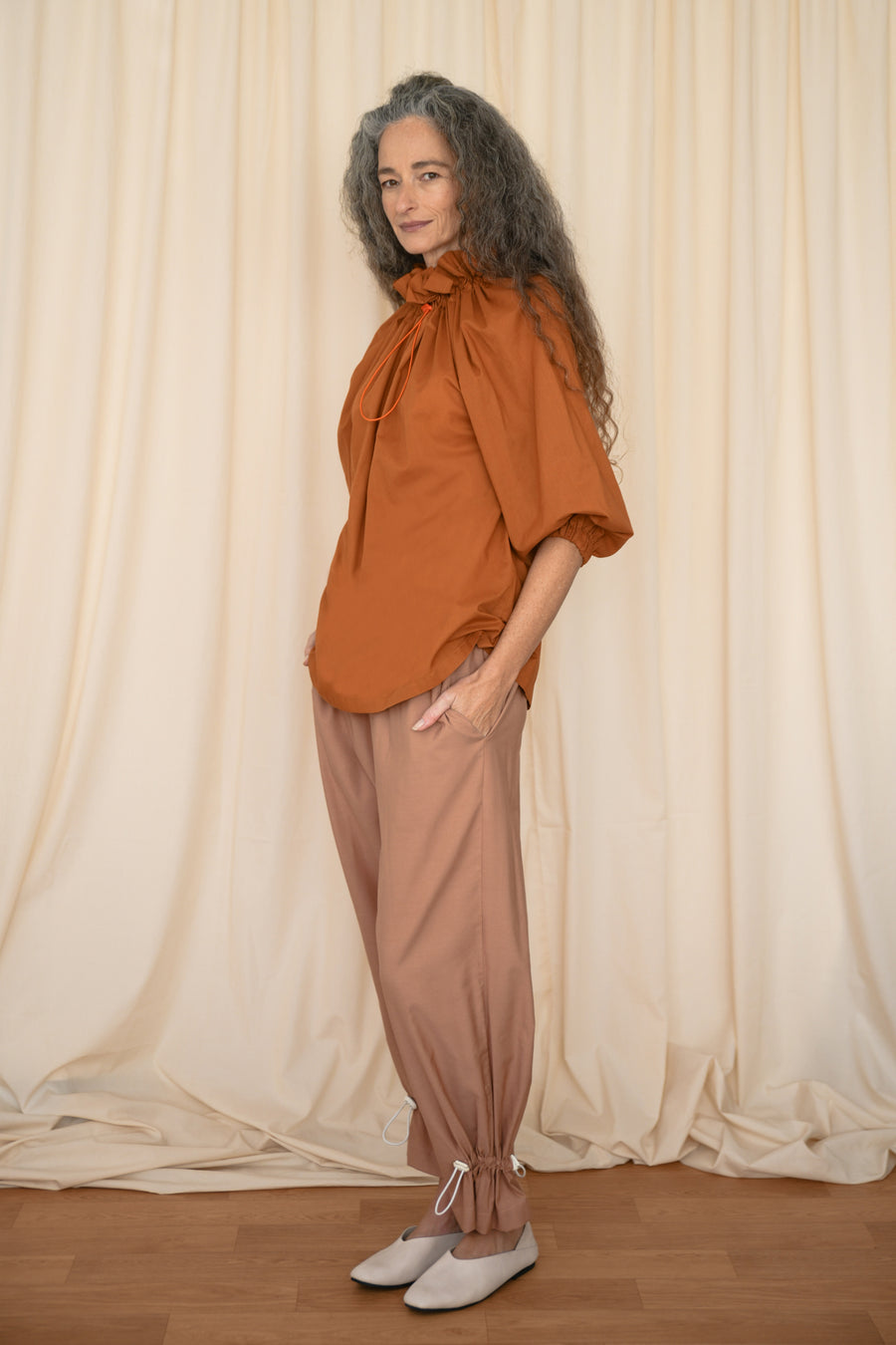 Peach Rubber Pants - OFIR IVGI