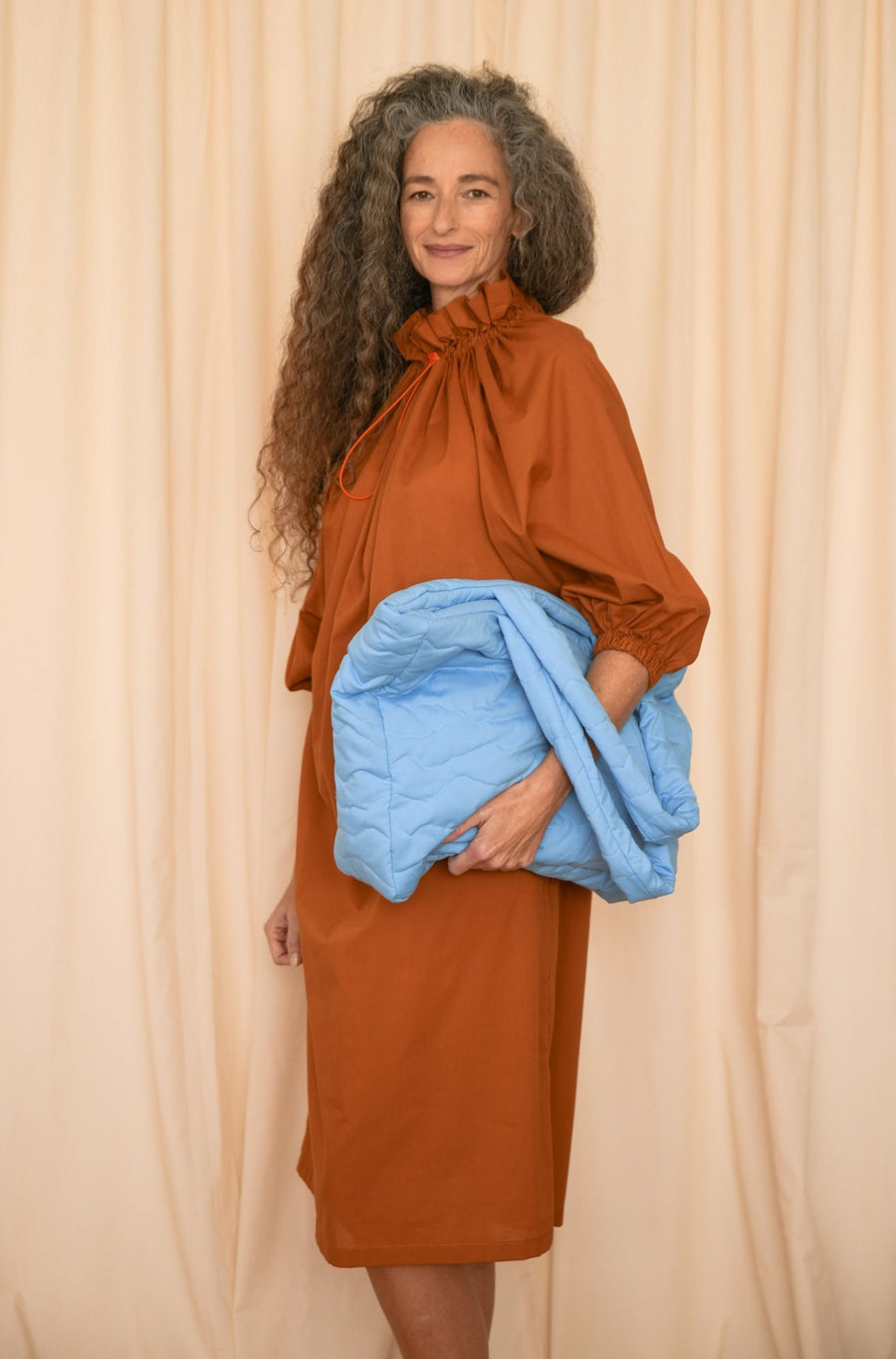 Light Blue Pillow Bag - OFIR IVGI