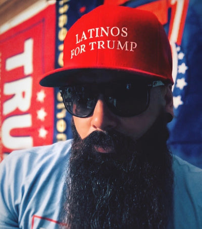 Latinos for Trump (Snapback Hat)