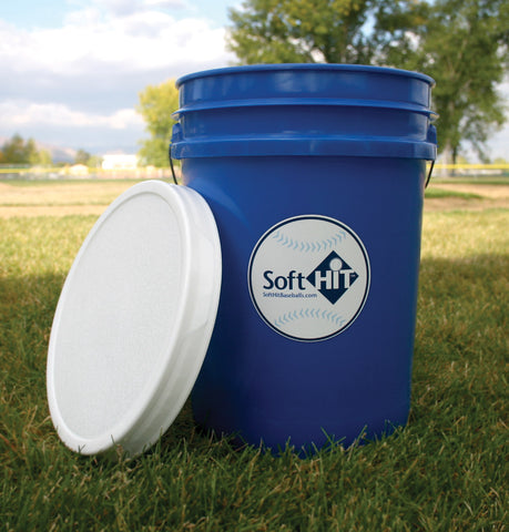 Soft HIT – Bucket of 2 Dozen Baseballs