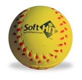 Soft HIT – Practice Baseballs (Package of 12) White or Yellow