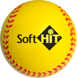 Soft HIT – Bucket of 2 Dozen Softballs – Yellow