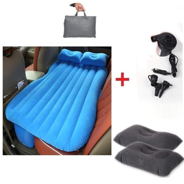 New inflatable mattress Car Bed +Air Pump car inflatable