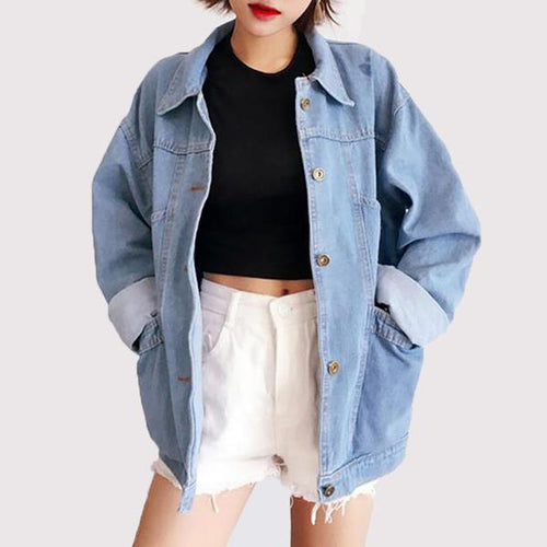 Autumn Jeans Jacket Casual