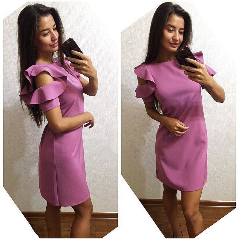 New Trend Purple Dress