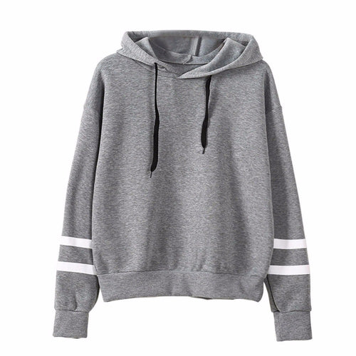 Pullover mit Kapuze Fashion 2018