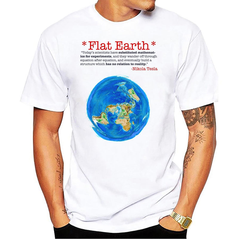 Flat Earth T-Shirts