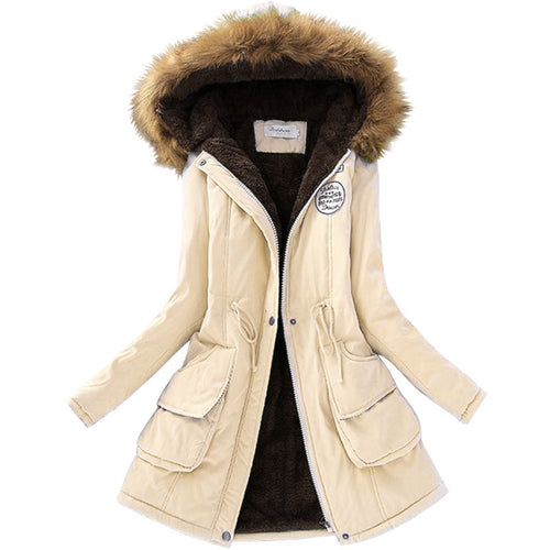 Long fashion parka