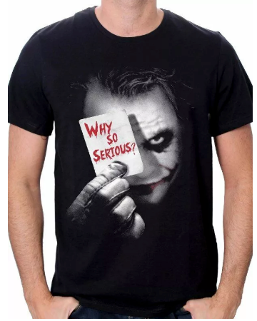 Joker T-Shirt Dark Knight