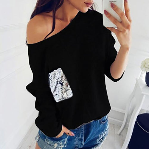 Sweater off Shoulder