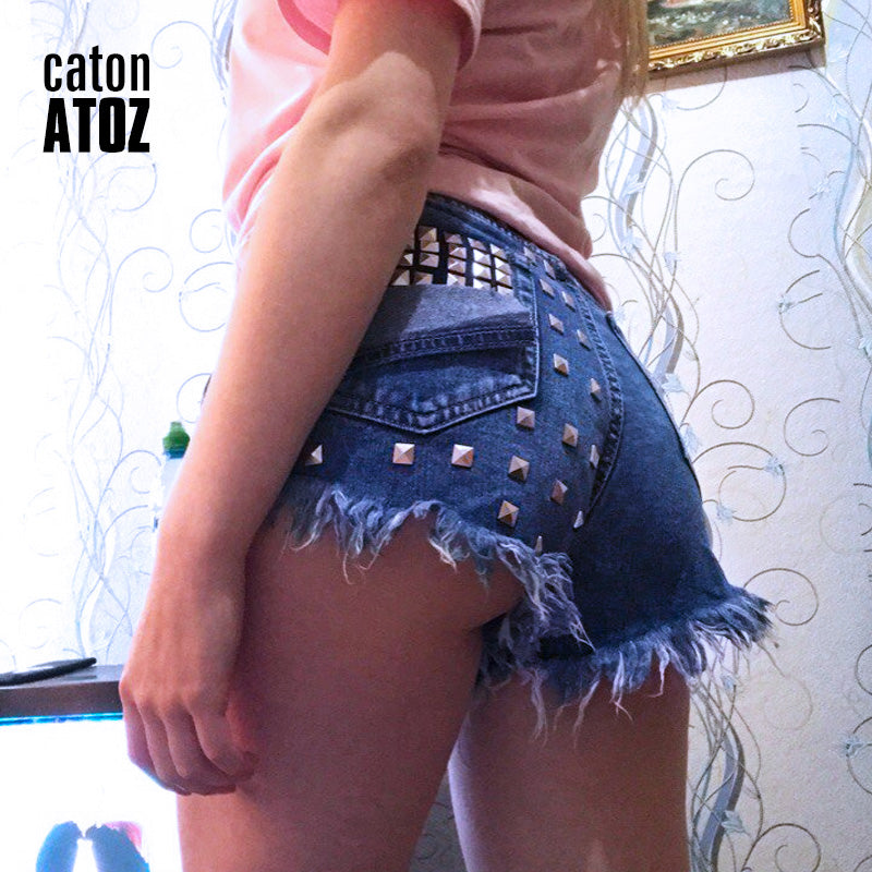 Sexy Jeans Shorts Vintage