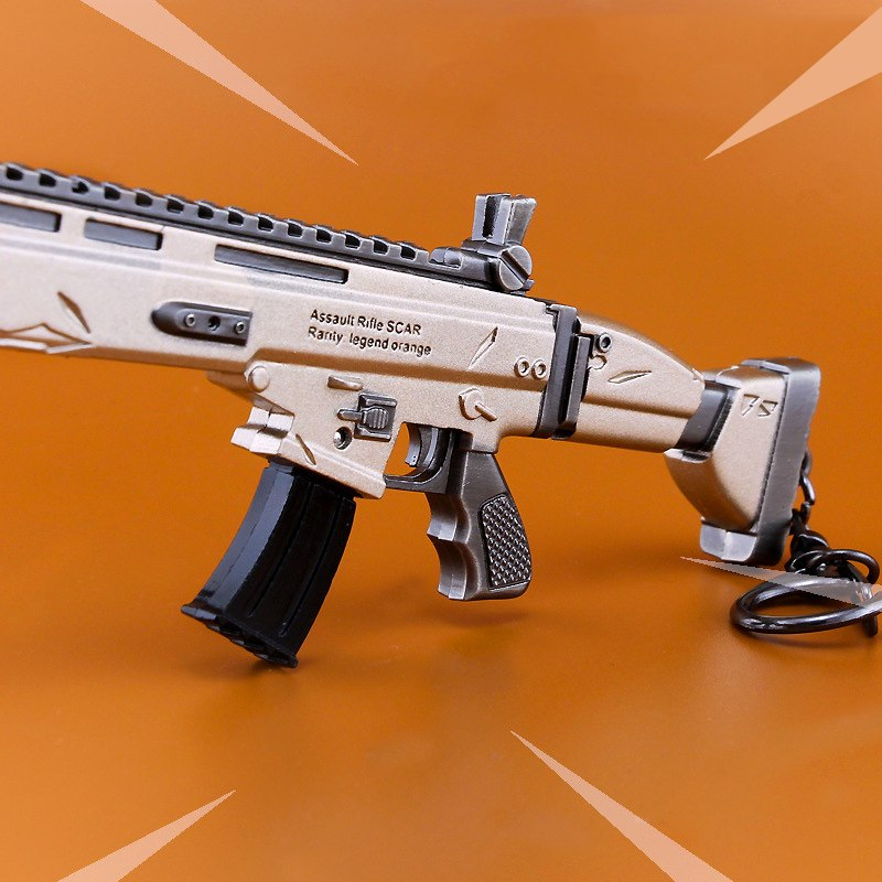 """FORTNITE"" SCAR mit Gravur ""Assault Rifle SCAR Rarity legend orange"