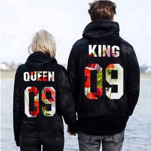 King Queen Pullover Paare