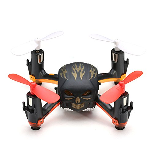 MINI RC SKULL QUADCOPTER DRONE