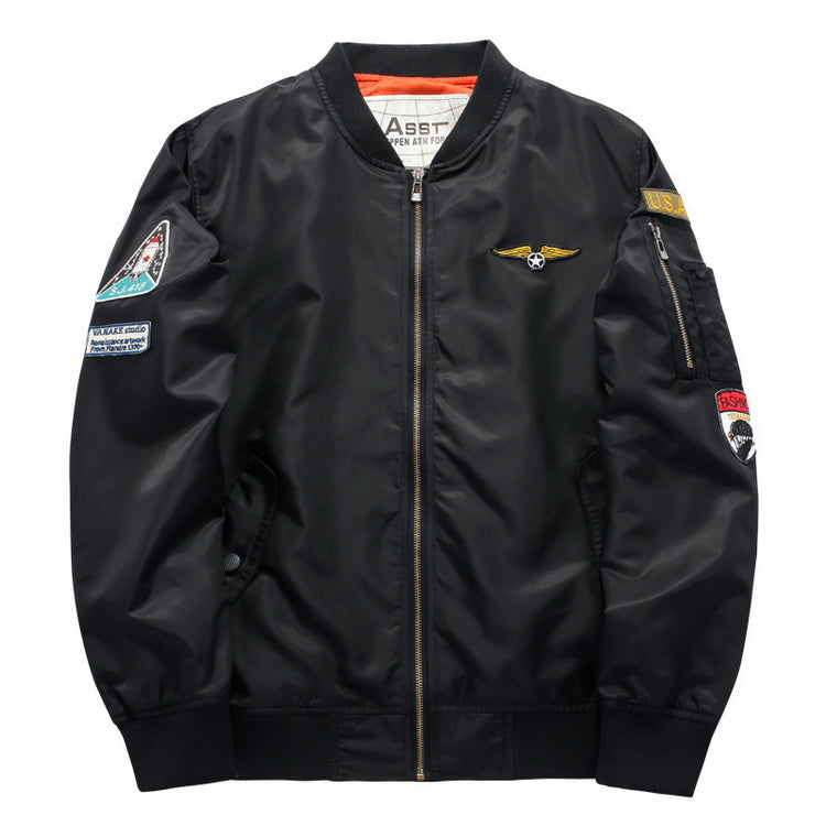Spring 2018 Flight Bomber Jacket