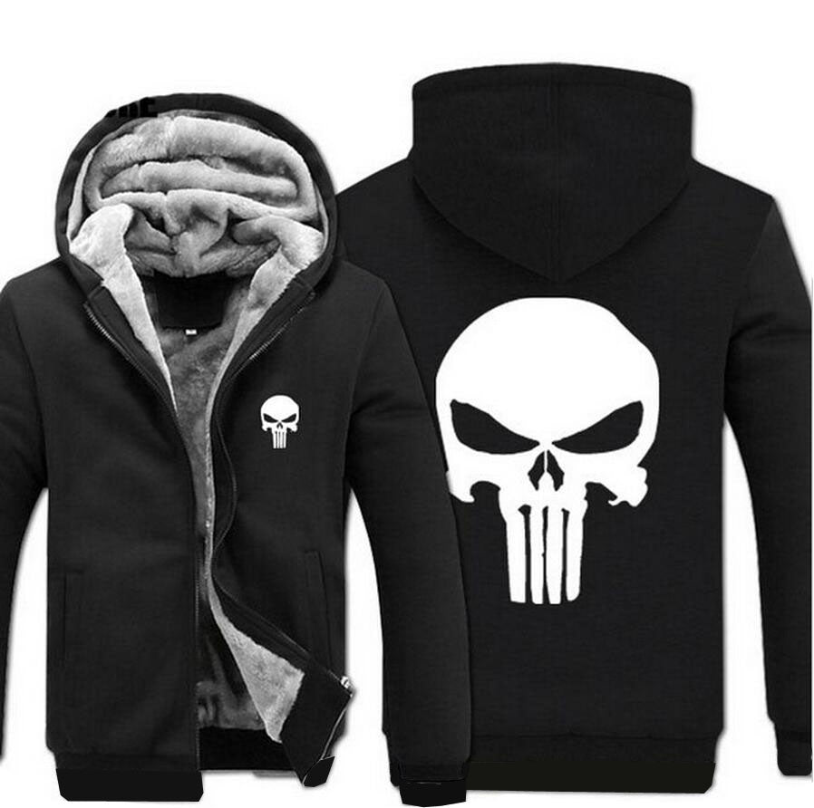 The Punisher Fleece Jacke
