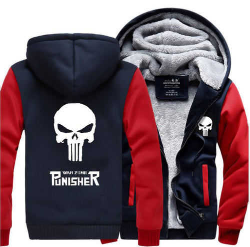 The Punisher Jacke Fleece