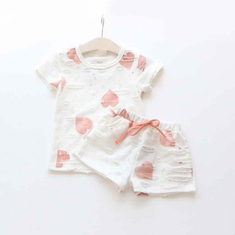 T-Shirt & Hotpants Set