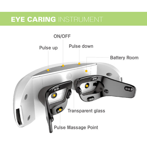Eye Massage Device + Protection + Relaxation