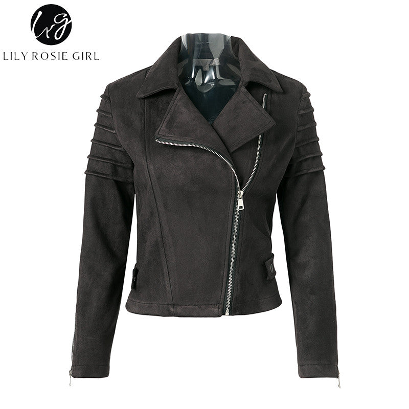 Casual Leather Jacket Spring 2018