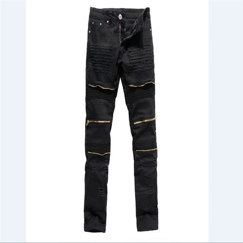 Slim Denim Jeanshose