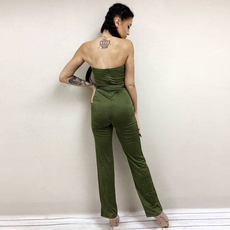 Jumpsuit trägerlos Fashion 2018